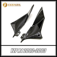 FOR Yamaha YZF R1 2002 2003 Motorcycle Parts Fairing Carbon Fiber Fuel Tank Both Sides Head Tube Side Cover