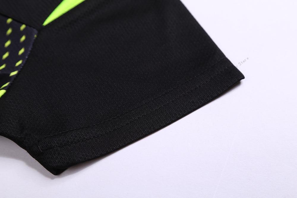 Camisa de Secagem rápida Badminton Suit Shirt