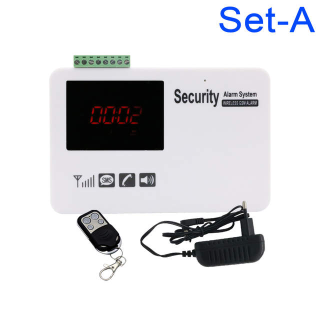 New Voice Led Security Wireless 99 Zone Gsm House Home Guard Alarm Systems System Alarm System Alarm Gsm System Security Aliexpress
