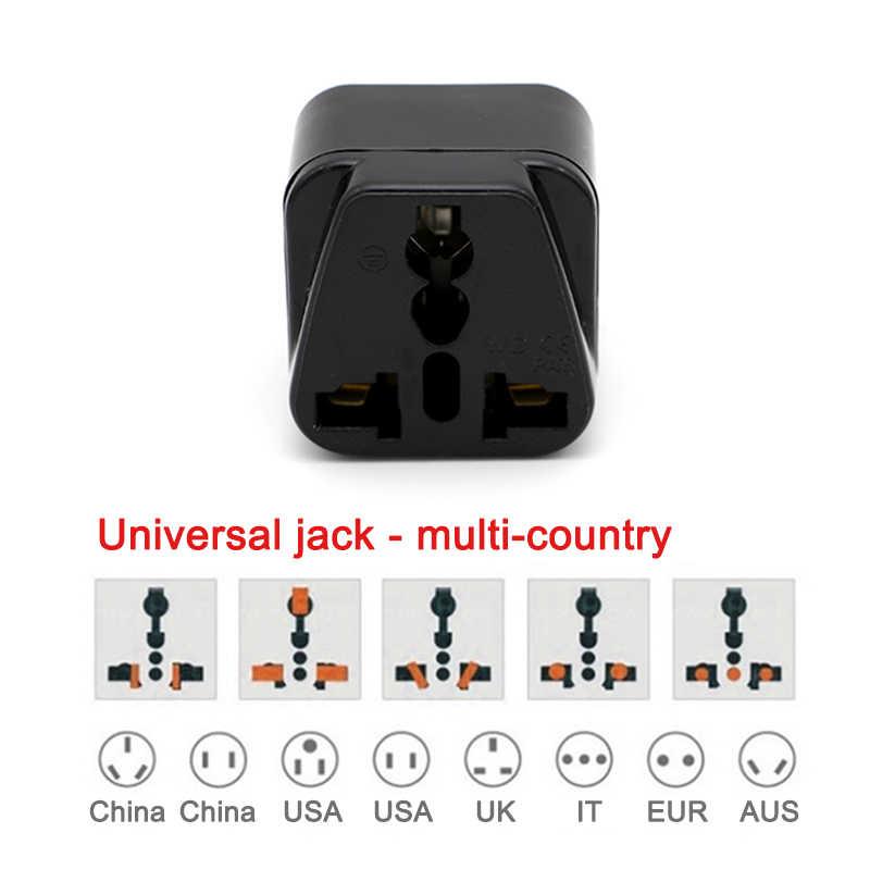 3-pin разъем преобразования Универсальный сетевой переходник UK/US/EU/AU в Италию в Милане Чили Ватикан в итальянском стиле дорожные АС разъемы для Мощность для адаптера для конвертера