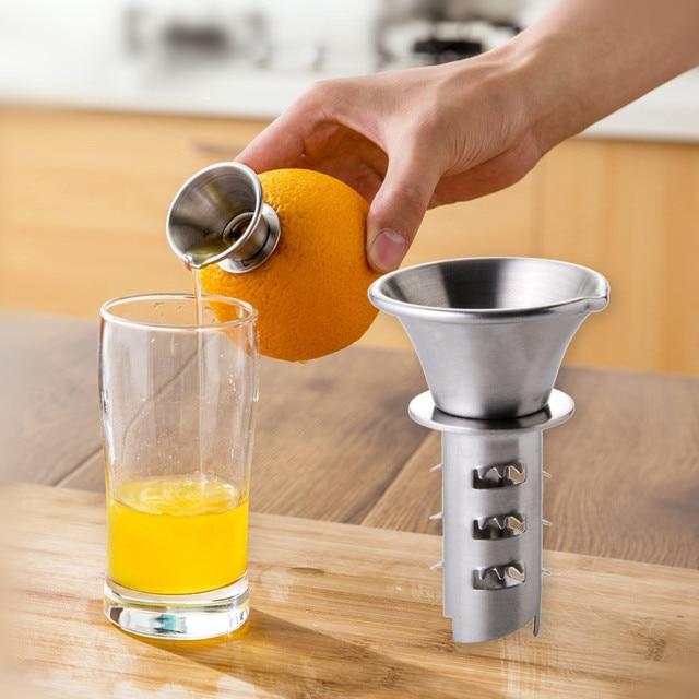 Manual Stainless Steel Lemon Squeezer Orange Juicer Fruit Vegetable Tools Kitchen  Accessories