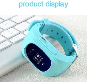 Image 5 - Q50 لتحديد المواقع ساعة تعقب الاطفال ساعة ذكية SOS دعوة مكافحة خسر سوار معصمه الأطفال يمكن ارتداؤها الأجهزة OLED لتحديد المواقع المقتفي