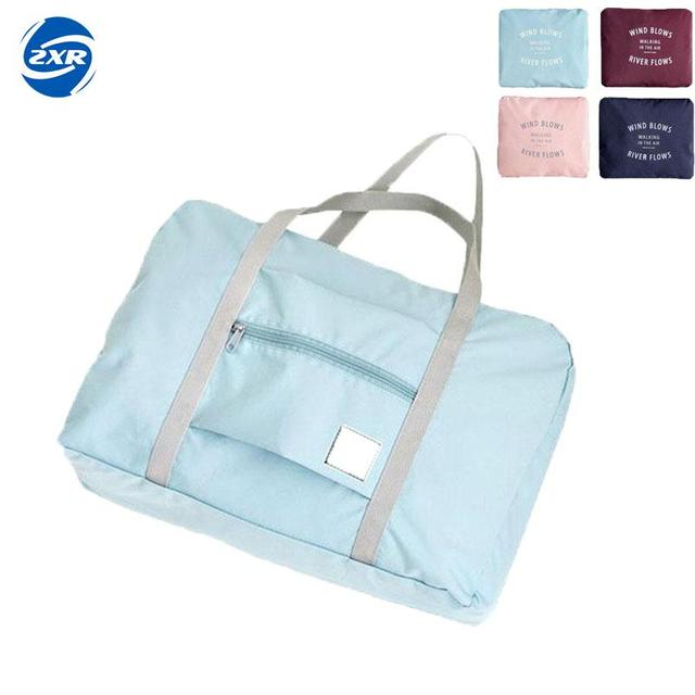 f6bc6cba11 Zuoxiangru Travelling Gym bags Portable Female Folding Storage Sport Bag  Large Capacity Women Fitness Bag Male Tie Case