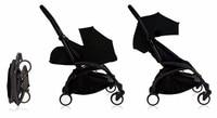 Детская коляска Yoya 2 в 1 + новорожденных nb гнездо ребенка тележка пакет sette Yoya коляска bebek arabasi BabyZen YoYo детская коляска
