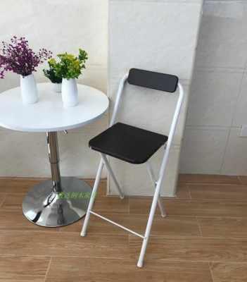 Современный складной руль, стул с высокой ножкой, спинка кресла, кресло для мужчин/женщин, металлическая труба, винный барный стул, сталь + панель высокой плотности
