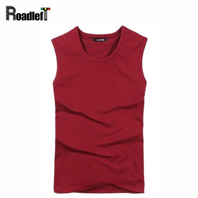 Homens de compressão calças justas de fitness musculação t-shirt tanque parte superior do algodão Homem casual tops t camisas dos homens
