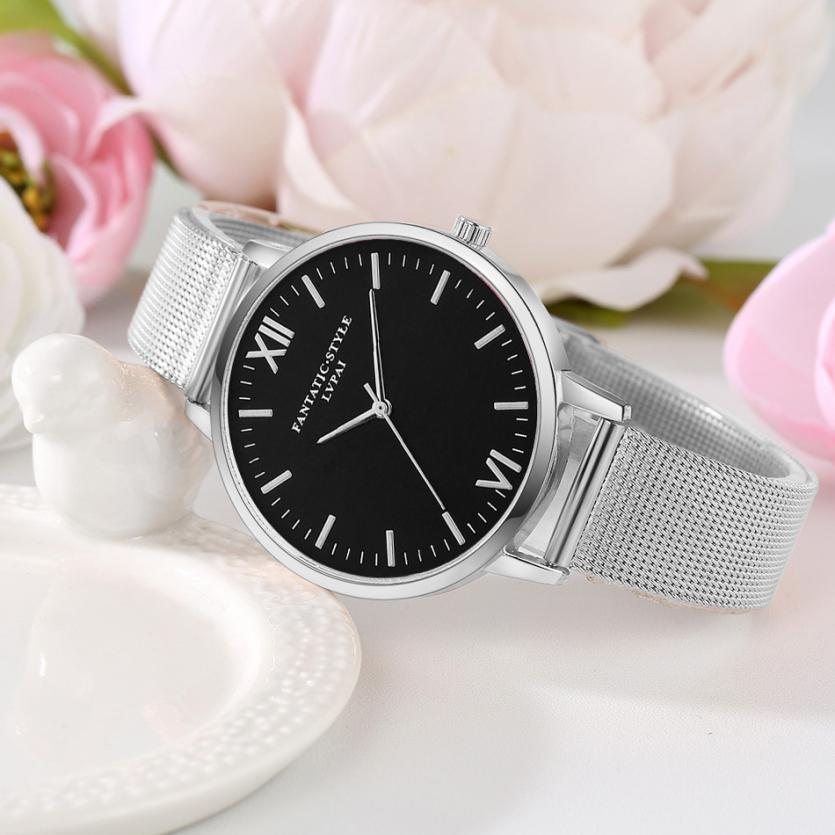 Lvpai Watches Women  Stainless Steel Bracelet  Analog Quartz Watch Luxury Brand Casual  Wristwatches Montre Femme 18feb24 #5