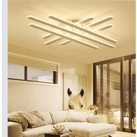 Chegada nova Modern led luzes lustre de teto para sala de estar quarto de jantar sala de Estudo luminárias de Alumínio conduziu a lâmpada Lustre