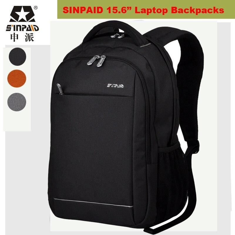 ФОТО Brand Laptop Bag 15 15.6 Inch Laptop Backpack Men Women Notebook Bag Waterproof Knapsack Larger Capacity Case for Lenovo/ASUS/HP
