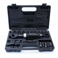 Top Quality Professional Multi function 1/4 3/8 1/2 Perforation Pneumatic / Air Ratchet Wrench Tool with Sockets M8 M21