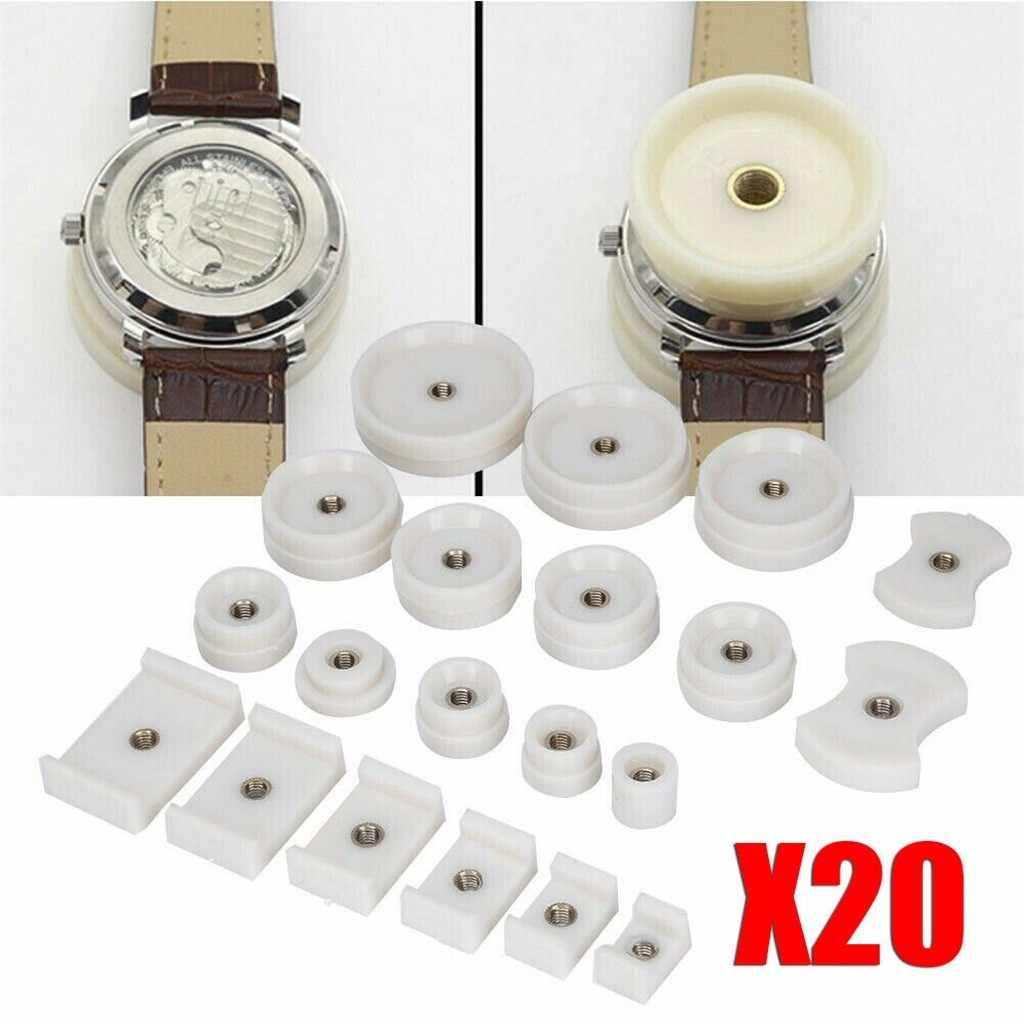 HSU Horloge Reparatie Tools Horloge Druk Back Case Closer Crystal Glass Fitting Sterft Set Horloge Femme Mannen Gift