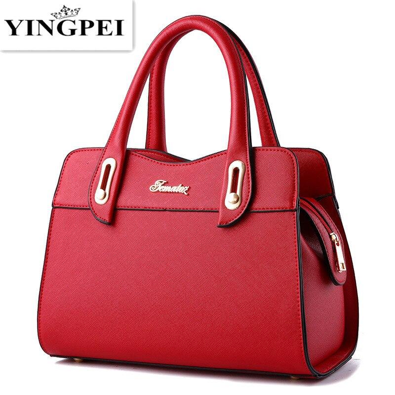 YINGPEI  women bag handbag fashion designer messenger bolsas feminina an edition