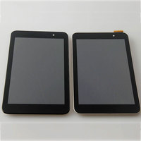 Test Good LCD Display Touch Screen With Frame Digitizer Assembly Replacement For Asus Memo Pad7 ME176