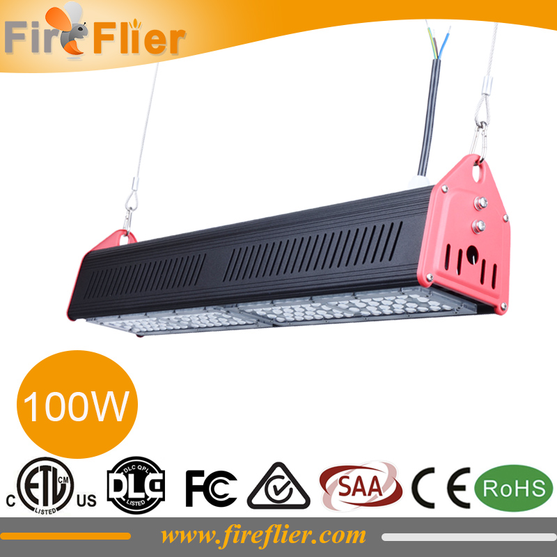 150w Linear Led Light Fixture: 3pcs/lot DLC SAA CE Listed 50W Led High Bay Fixture 100w