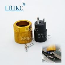 ERIKC original del inyector de carril común quitar herramientas tres llave de mordaza utilizado para DENSO Eremoving común carril diesel válvula de inyección