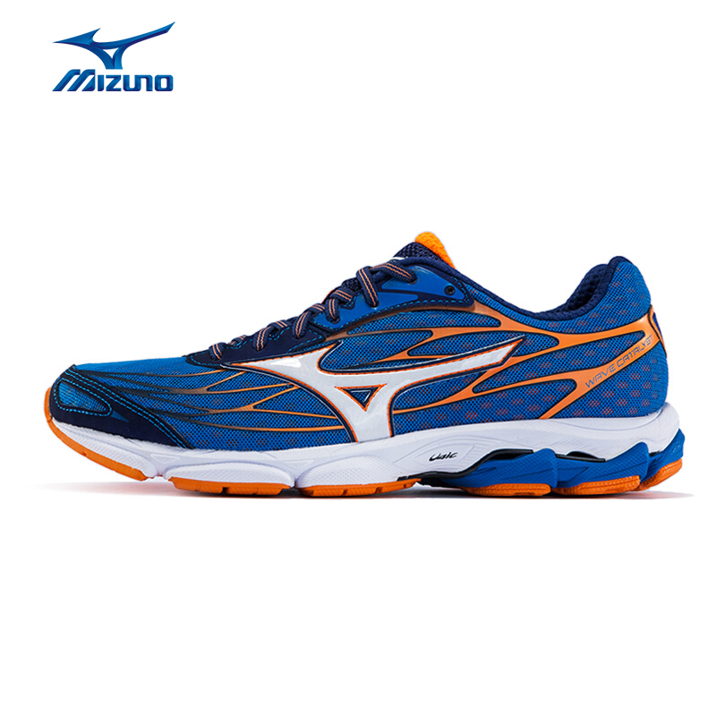 MIZUNO Men WAVE CATALYST Jogging Running Shoes Cushion Breathable Sports Shoes Sneakers J1GC163302 XYP578