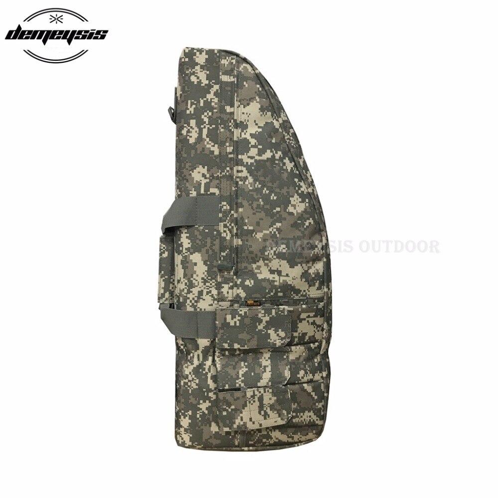 de caça airsoft arma saco caso rifle ombro arma saco