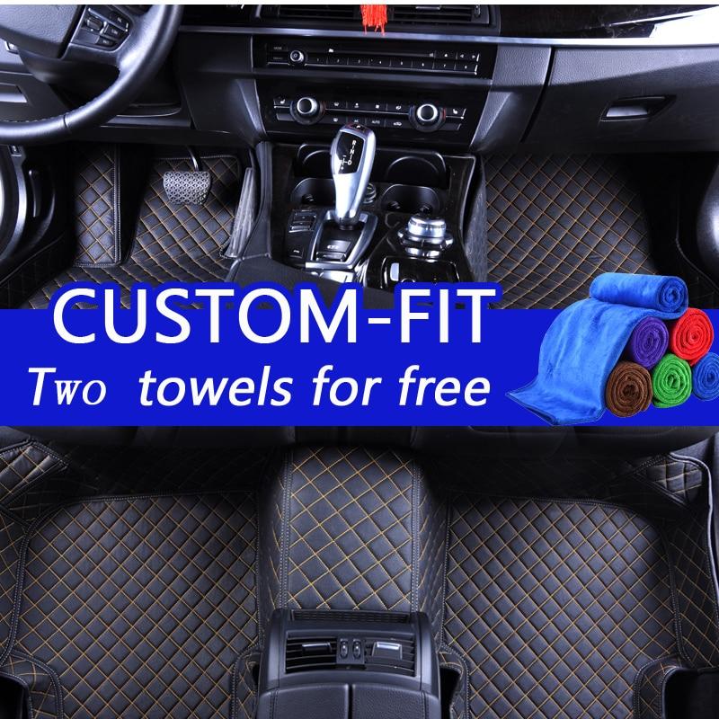 Alfombrillas personalizadas para Toyota Land Cruiser 200 Prado 150 - Accesorios de interior de coche - foto 1