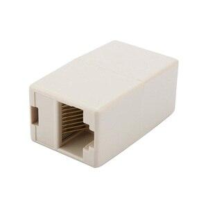 Image 2 - Marsnaska Cable Joiner RJ45 adaptador de red Ethernet acoplador LAN extensor de conector macho