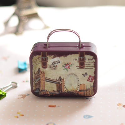 Nice Vintage Suitcase Storage Tin Candy Coin Purse Earphones Box Small Handbag Storage  Box In Storage Boxes U0026 Bins From Home U0026 Garden On Aliexpress.com | Alibaba  ...