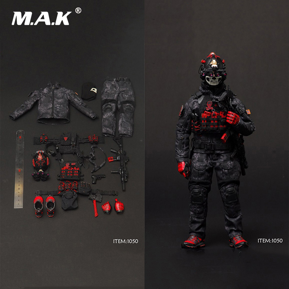 1/6 Scale Male Soldier Figure Clothes Set Camo Combat Suits For 12 Man Action Figure Body Collections Toys