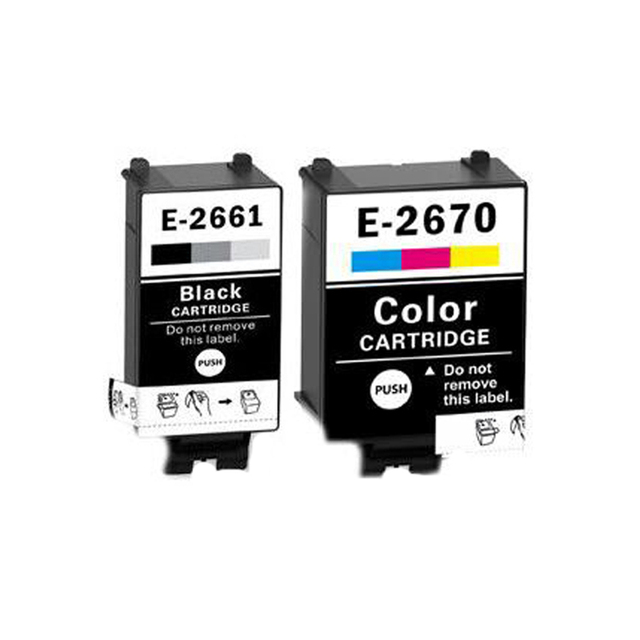 US $12 51 10% OFF|266xl T266 t2661xl Ink Cartridge T2661 T2670 For Epson  WorkForce WF 100W ink printer-in Ink Cartridges from Computer & Office on