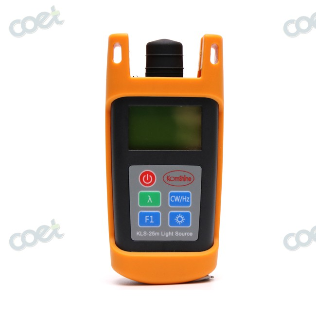 Handheld FTTH Fiber Optical Test Tool Fiber Optic Power Meter KPM-25M OPM Tester 0.01dbm Resolution
