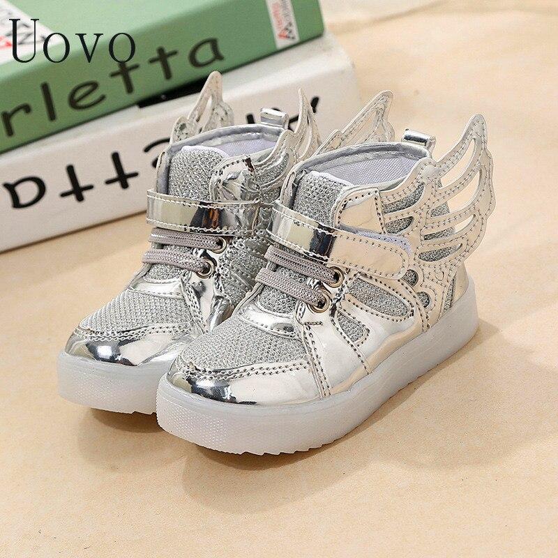 New Kinder Schuhe Mit Licht Beleuchtete Schuhe Jungen Madchen Led