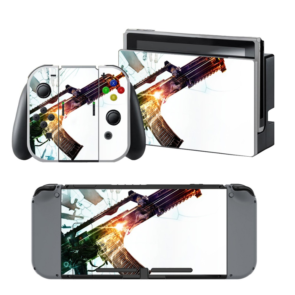 Newly Arrival Vinyl Skin Sticker for Nintendo Switch Console Protector Cover Decal Vinyl Skin for Skins Stickers 0116