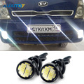 For Kia Rio K2 Ceed Sportage Sorento Cerato Soul Picanto Optima K3 Spectra Carnival K5 LED Eagle Eye DRL Daytime Running Light