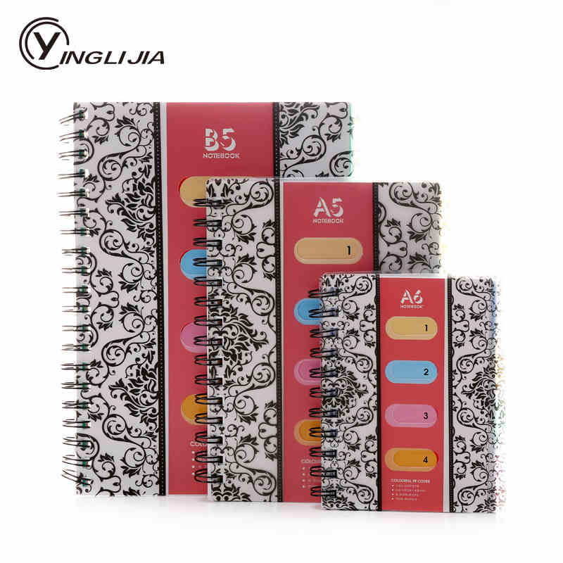 Promotion Business Diary Spiral Notebook paper A6 A5 B5 120 sheets Planner notepad Creative Office school supplies vintage a5 b5 lined diary notebook classic business planner notepad memory books children birthday gift elegant