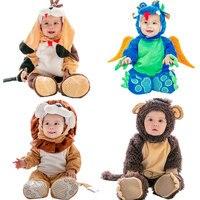 Baby Halloween Costume Christmas Cosplay Girls Boys Birthday Party Gift Children Animal Jumpsuit