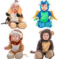 Baby Halloween Costume Christmas Cosplay Girls Boys Birthday Party Gift Children Animal Jumpsuit