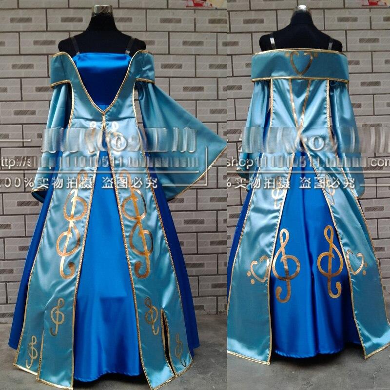 LOL Maven of the Strings Sona Buvelle Cosplay Costume Halloween Christmas Dress Uniform