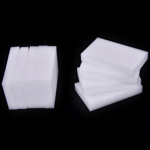 New 20Pcs Multi-Function White Magic Sponge Eraser Melamine Cleaner Kitchen Bathroom Cleaning Tools Nano Sponge Wholesale