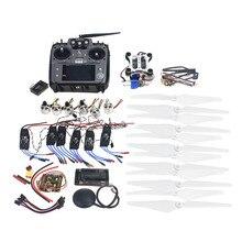 F14711-I RC HexaCopter ARF Electrónico: Radioenlace AT10 TX y RX 920KV Motor Sin Escobillas 30A ESC Propeller GPS APM2.8 Cámara cardán