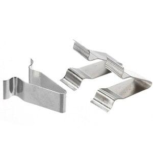 Image 5 - 10 sztuk/zestaw 22mm metalowy wiosna spinka do tapicerki klipsy samochodowe nit mocujący klip dla Audi Boot 4A0867276