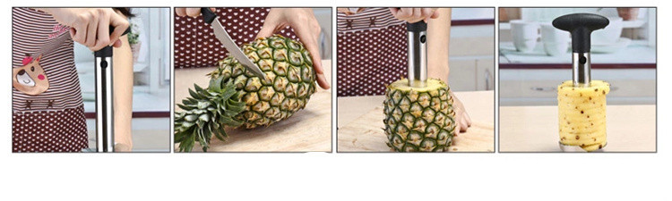 New Arrival, Pineapple slicer peeler cutter parer knife stainless steel kitchen fruit tools cooking tools free shipping
