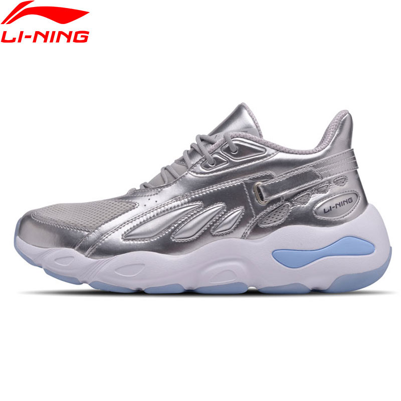 Li-Ning Women Butterfly 2018 NYFW Walking Shoes Dad Shoes Wearable Leisure Sneakers LiNing Fitness Sport Shoes AGLN072 XYP696