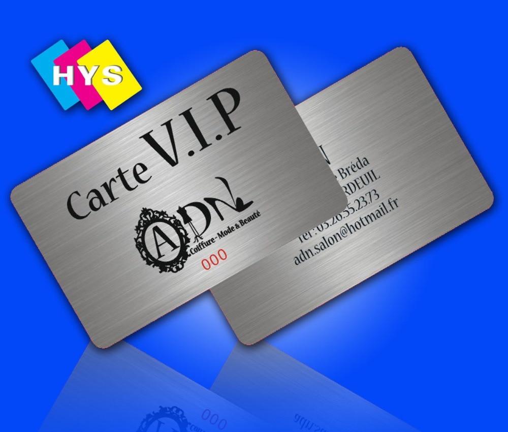 En Plastique Vip Cartes Personnalisees Pour Votre Carte De Visite