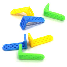 5 шт. J553b 30*15*12 мм пластиковые угловые скобки l-образный пластиковый соединитель запчасти в убыток США Бразилия