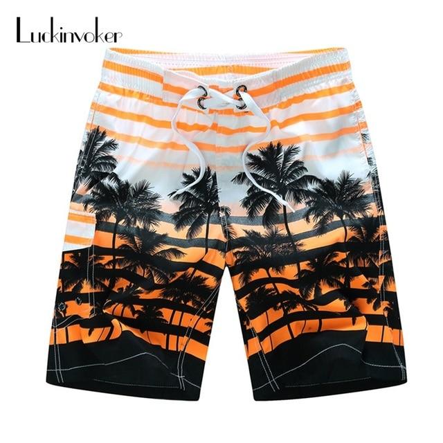c58dc7dd3ba Men Shorts M-6XL Plus Size Summer Shorts Men Quick Dry Thin Outdoor Beach  Wear Lace-up Loose Surfing Board Shorts Men Swimwear