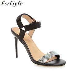 ESRFIYFE/2019 г. новое поступление, летняя обувь, пикантные Модные женские Босоножки с открытым носком, туфли-лодочки на тонком каблуке, женская