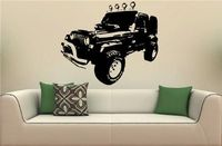 JEEPS WRANGLER Rubicon Sahara Wall Art Sticker Decal 22X38inch