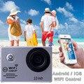 Os recém-chegados go pro ação cam full hd câmera esporte wi-fi 12MP 2.0 polegada LTPS Tela camera-3031 170D mergulho 30 m à prova d' água ação