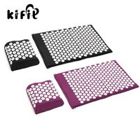 KIFIT Acupressure Massage Pillow Mat Yoga Bed Pilates Nail Needle Pressure Neck Health Beauty Care Tool