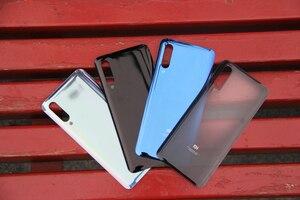 Image 2 - XiaoMi Cubierta trasera de batería de repuesto, Original, cristal para puerta de Xiaomi 9 MI9 M9 MI 9, carcasa trasera, funda protectora de teléfono
