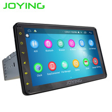 JOYING Hot sale New Style Car Stereo 1 din Android 6.0 GPS Navigation 8 inch HD 1024*600 AutoRadio support DAB+ DVR CAMERA OBD2
