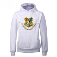 Hogwarts School Letters Print Adult Hoodies Women 2018 Spring Autumn Kawaii Sweatshirts Women's Warm Fleece Harajuku Pullovers