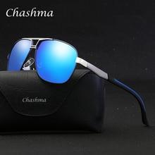 CHASHMA Brand Polarized Sunglasses Men's Aluminum Magnesium Frame Car Driving Su